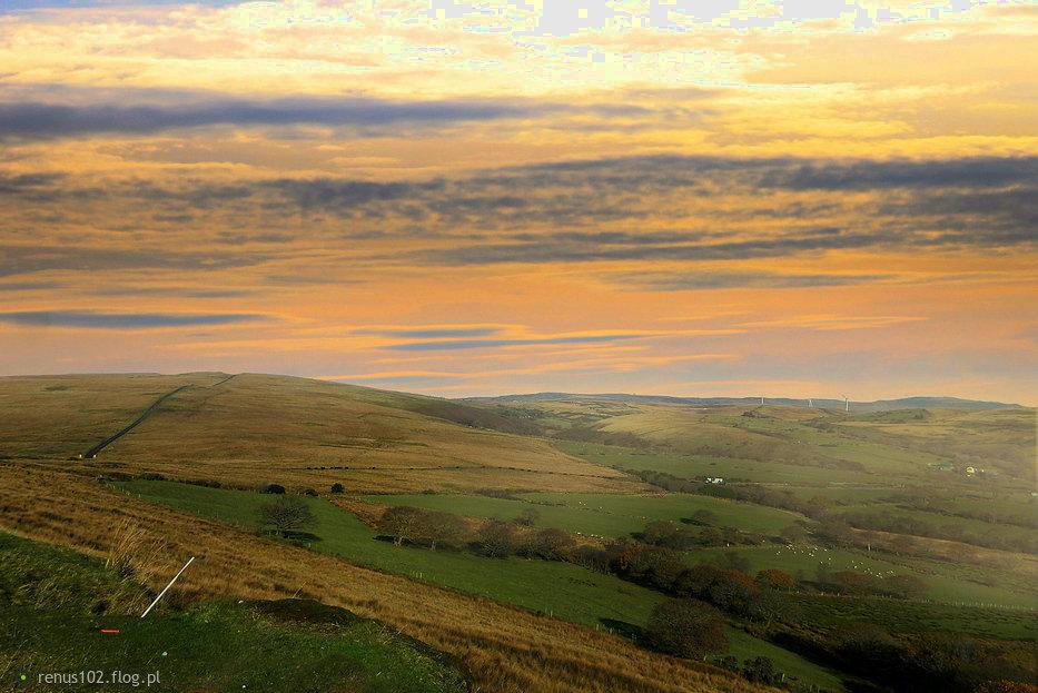 Walijskie krajobrazy.....