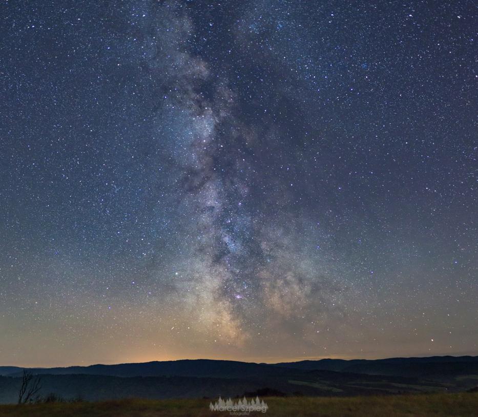 Bieszczadzka Milky Way
