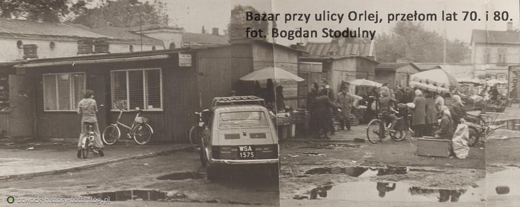 Bazar przy ulicy Orlej