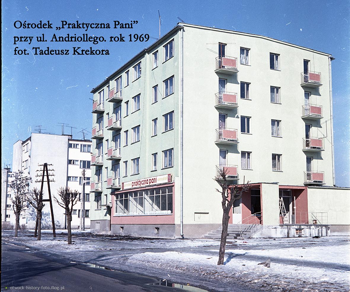 """Ośrodek """"Praktyczna Pani"""" przy ul. Andriollego. Rok 1969"""