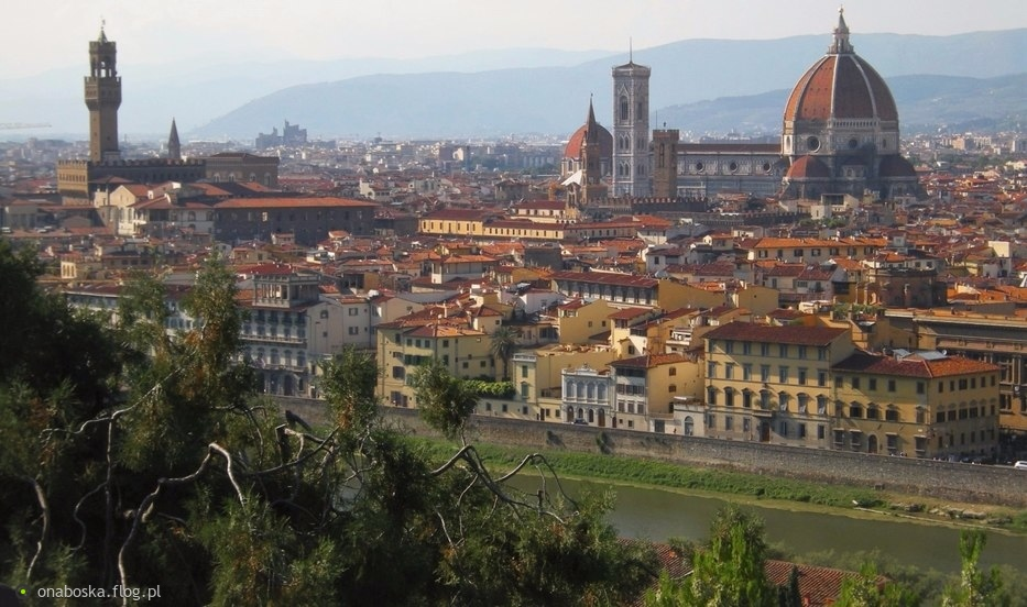 "Florencja Dantego a ""Inferno"" Dana Browna :)"