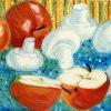 Pieczarki i jabłka :: Olej