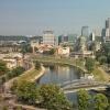 Wilno - panorama z Góry G<br />iedymina, widok z dominan<br />tą na Snipiszki finansowe<br /> centrum miasta ::
