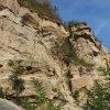 Przekrój skał  typu less <br />piaszczysty